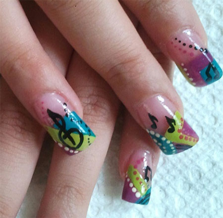 Inspiring-Music-Nail-Art-Designs-Ideas-Trends-2014-9