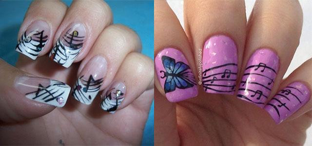 Inspiring Music Nail Art Designs, Ideas & Trends 2014 | Fabulous Nail Art  Designs - Inspiring Music Nail Art Designs, Ideas & Trends 2014 Fabulous