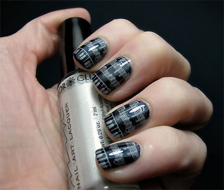 Inspiring-Sheet-Music-Nail-Art-Designs-Ideas-Trends-2014-10