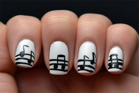 Inspiring-Sheet-Music-Nail-Art-Designs-Ideas-Trends-2014-3