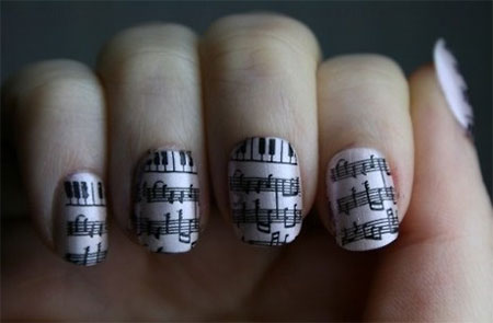 Inspiring-Sheet-Music-Nail-Art-Designs-Ideas-Trends-2014-4