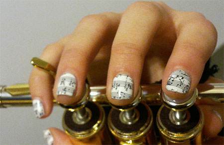 Inspiring-Sheet-Music-Nail-Art-Designs-Ideas-Trends-2014-5