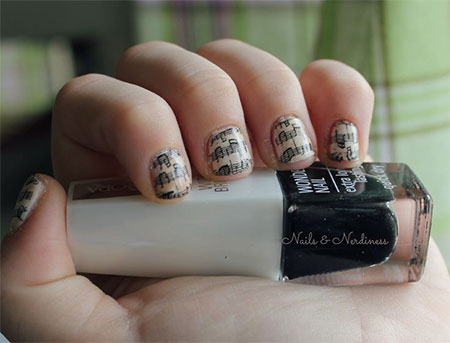 Inspiring-Sheet-Music-Nail-Art-Designs-Ideas-Trends-2014-6