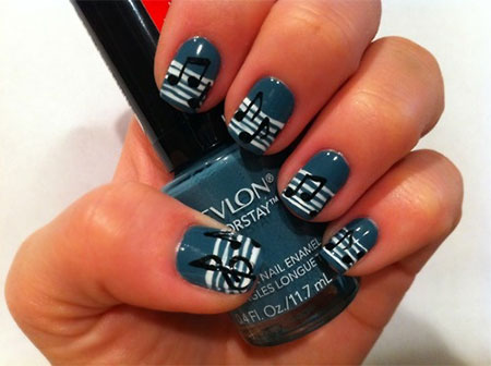 Inspiring-Sheet-Music-Nail-Art-Designs-Ideas-Trends-2014-7