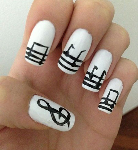 Inspiring-Sheet-Music-Nail-Art-Designs-Ideas-Trends-2014-8