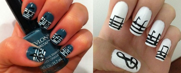 Inspiring-Sheet-Music-Nail-Art-Designs-Ideas-Trends-2014