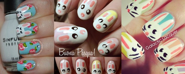 Simple-Easter-Bunny-Nail-Art-Designs-Ideas-2014-For-Learners