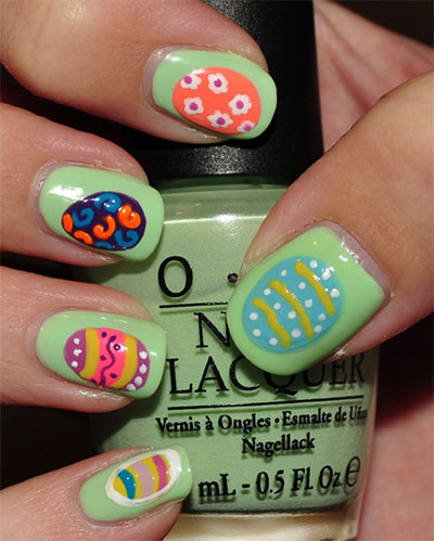 Simple-Easter-Egg-Nail-Art-Designs-Ideas-For-Beginners-2014-2