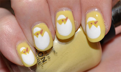 Simple-Easter-Egg-Nail-Art-Designs-Ideas-For-Beginners-2014-4