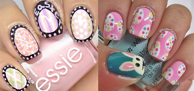 Simple Easter Egg Nail Art Designs & Ideas For Beginners 2014 | Fabulous Nail  Art Designs - Simple Easter Egg Nail Art Designs & Ideas For Beginners 2014