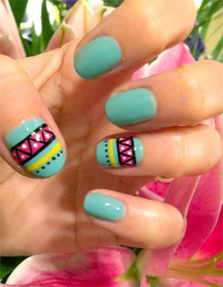 Simple-Spring-Nail-Art-Designs-Ideas-Trends-2014-For-Learners-4