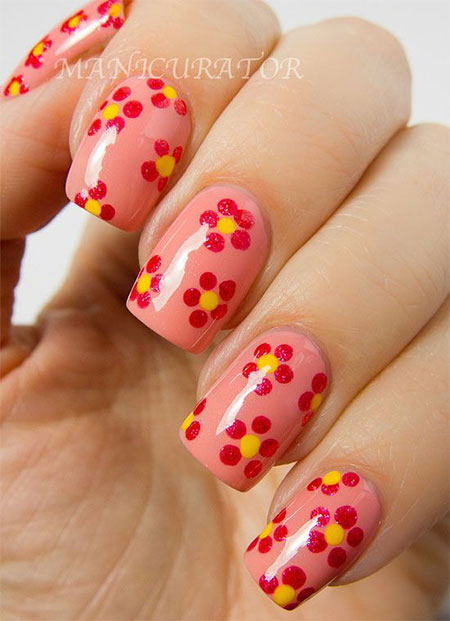Simple-Spring-Nail-Art-Designs-Ideas-Trends-2014-For-Learners-5