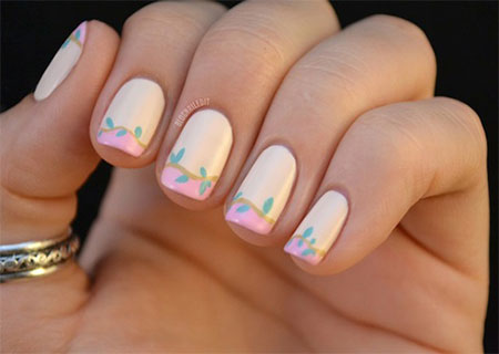 Simple-Spring-Nail-Art-Designs-Ideas-Trends-2014-For-Learners-8