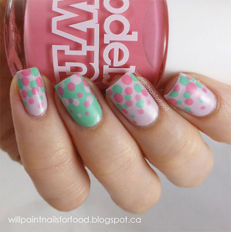 Simple-Spring-Nail-Art-Designs-Ideas-Trends-2014-For-Learners-9