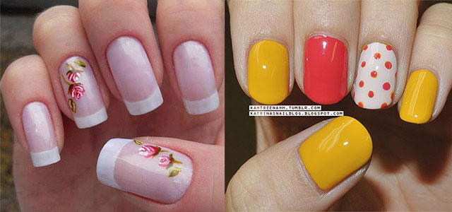 simple spring nail art designs ideas trends 2014 for learners fabulous nail art designs