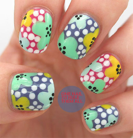 Smashing-Spring-Time-Flower-Nail-Art-Designs-Ideas-Trends-2014-1