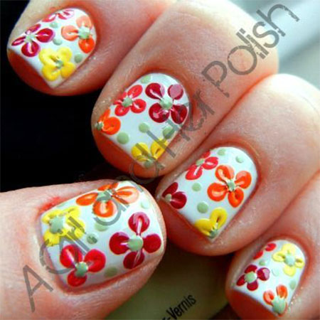 Smashing-Spring-Time-Flower-Nail-Art-Designs-Ideas-Trends-2014-3