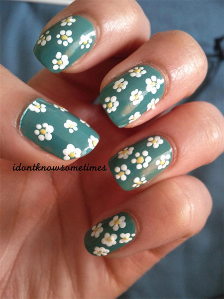 Smashing-Spring-Time-Flower-Nail-Art-Designs-Ideas-Trends-2014-5