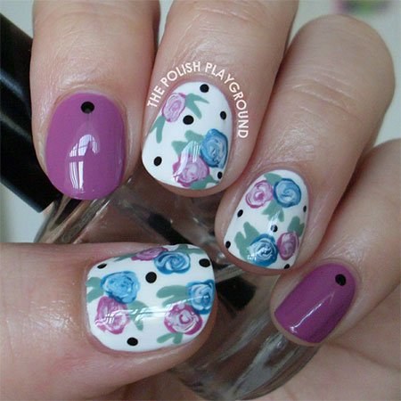 Smashing-Spring-Time-Flower-Nail-Art-Designs-Ideas-Trends-2014-6