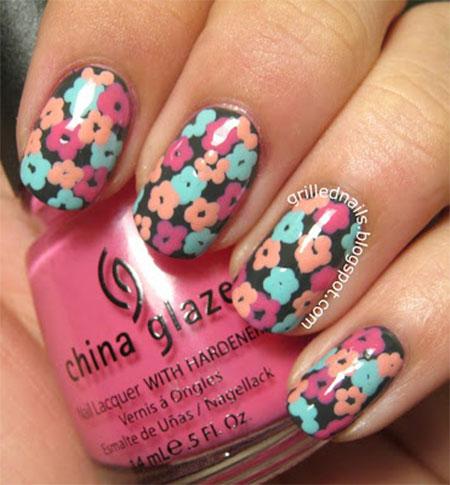 Smashing-Spring-Time-Flower-Nail-Art-Designs-Ideas-Trends-2014-7