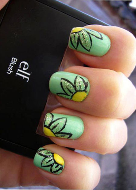 Smashing-Spring-Time-Flower-Nail-Art-Designs-Ideas-Trends-2014-8