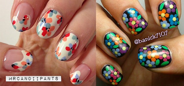 Smashing-Spring-Time-Flower-Nail-Art-Designs-Ideas-Trends-2014