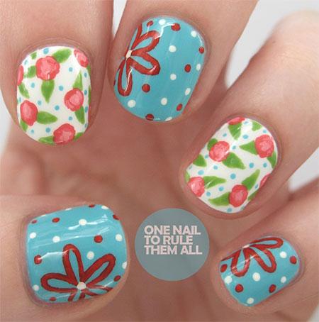 Spring-Flower-Nail-Art-Designs-Ideas-Trends-2014-1