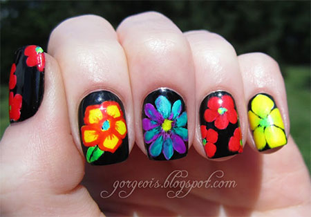 Spring-Flower-Nail-Art-Designs-Ideas-Trends-2014-8
