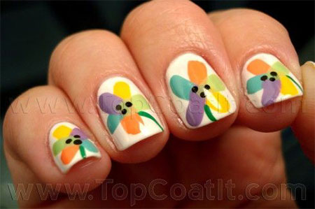 Spring-Flower-Nail-Art-Designs-Ideas-Trends-2014-9