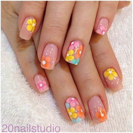 gallery for spring nail designs 2014