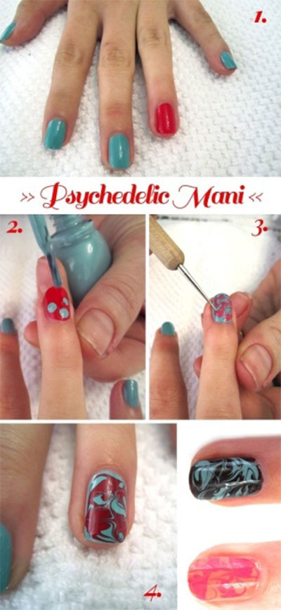 Spring-Summer-Inspired-Nail-Art-Tutorials-2014-For-Beginners-1