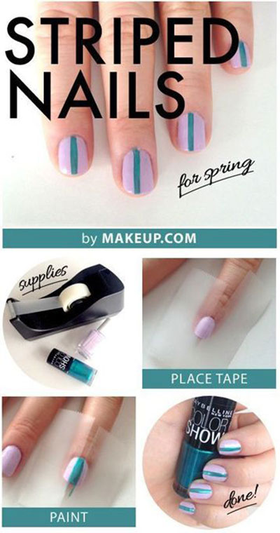 Spring-Summer-Inspired-Nail-Art-Tutorials-2014-For-Beginners-3