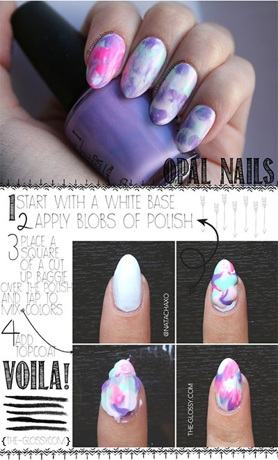 Spring-Summer-Inspired-Nail-Art-Tutorials-2014-For-Beginners-8