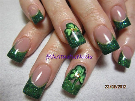 Sttricks Day Nail Art Designs Ideas 2014 Fabulous Nail Art