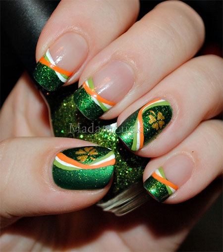 St Patrick S Day Nail Art Designs Amp Ideas 2014 Fabulous Nail Art Designs