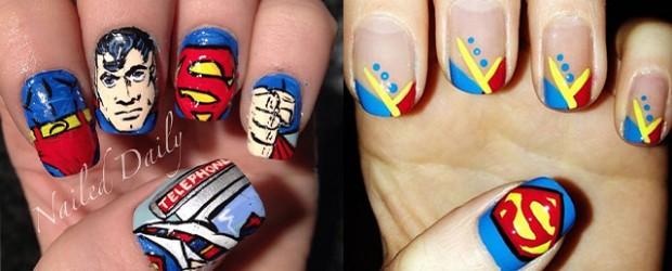 12-Easy-Superman-Nail-Art-Designs-Ideas-Trends-Stickers-Wraps-2014