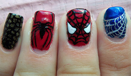 15-Spiderman-Nail-Art-Designs-Ideas-Trends-Stickers-Wraps-2014-12