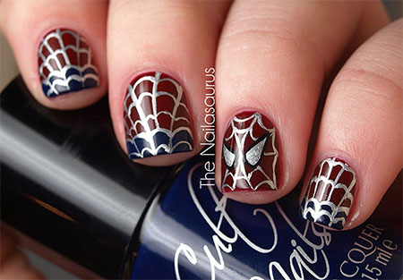 15-Spiderman-Nail-Art-Designs-Ideas-Trends-Stickers-Wraps-2014-15