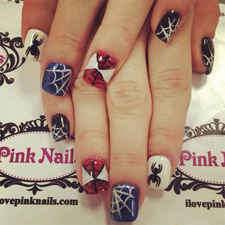 15-Spiderman-Nail-Art-Designs-Ideas-Trends-Stickers-Wraps-2014-2