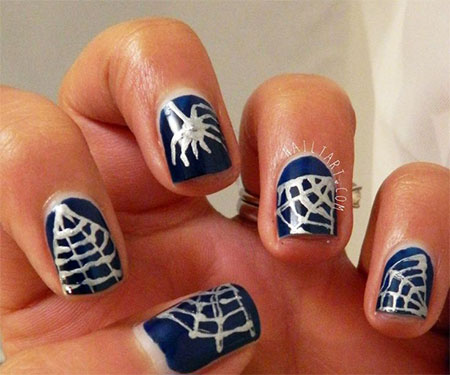 15-Spiderman-Nail-Art-Designs-Ideas-Trends-Stickers-Wraps-2014-7