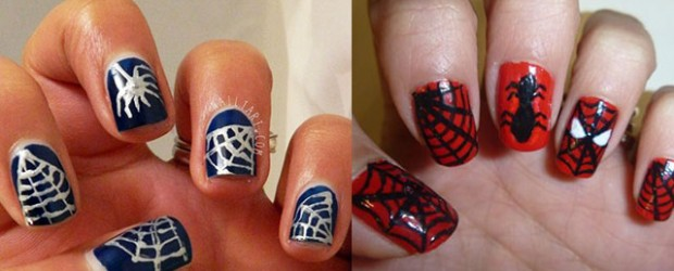 15-Spiderman-Nail-Art-Designs-Ideas-Trends-Stickers-Wraps-2014