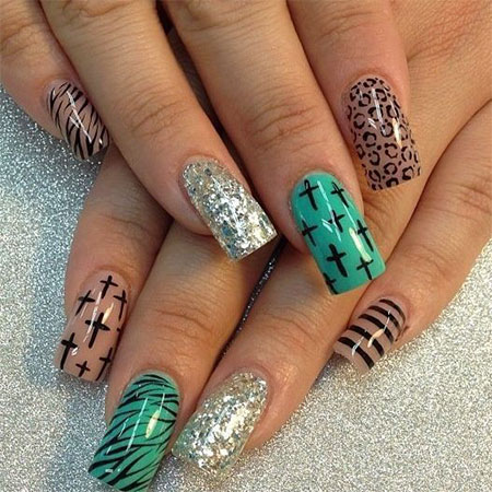 50 Best Acrylic Nail Art Designs, Ideas & Trends 2014 | Fabulous ...
