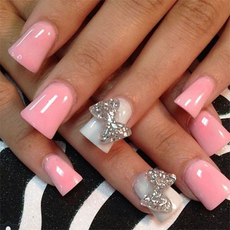 50 best acrylic nail art designs ideas trends 2014 for Acrylic nail decoration