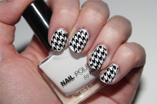 50-Best-Houndstooth-Nail-Art-Designs-Ideas-Trends-Stickers-Wraps-2014-13