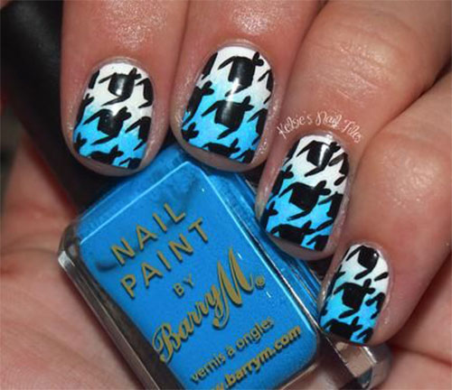 50-Best-Houndstooth-Nail-Art-Designs-Ideas-Trends-Stickers-Wraps-2014-14