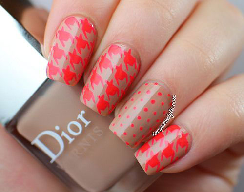 50-Best-Houndstooth-Nail-Art-Designs-Ideas-Trends-Stickers-Wraps-2014-15