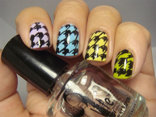 50-Best-Houndstooth-Nail-Art-Designs-Ideas-Trends-Stickers-Wraps-2014-16