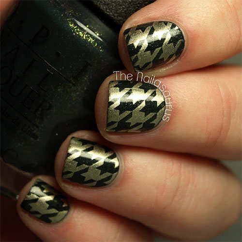 50-Best-Houndstooth-Nail-Art-Designs-Ideas-Trends-Stickers-Wraps-2014-17
