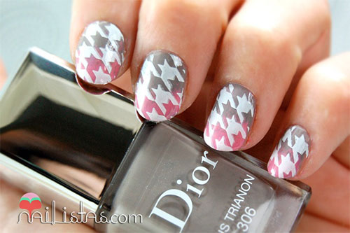 50-Best-Houndstooth-Nail-Art-Designs-Ideas-Trends-Stickers-Wraps-2014-19
