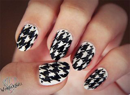 50-Best-Houndstooth-Nail-Art-Designs-Ideas-Trends-Stickers-Wraps-2014-26